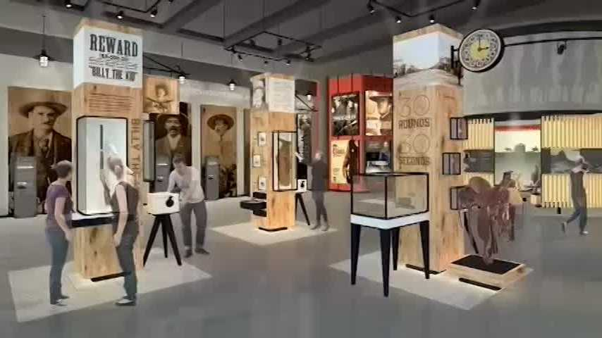 40/29's Daniel Armbruster takes a look at the exhibits that will be featured at the US Marshals Museum.