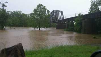 Arkansas River Bridge in Fort Smith