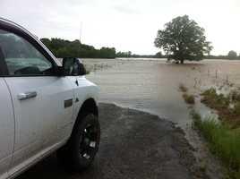 Flood in Cameron OK