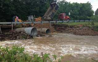 Flooding in Ozark
