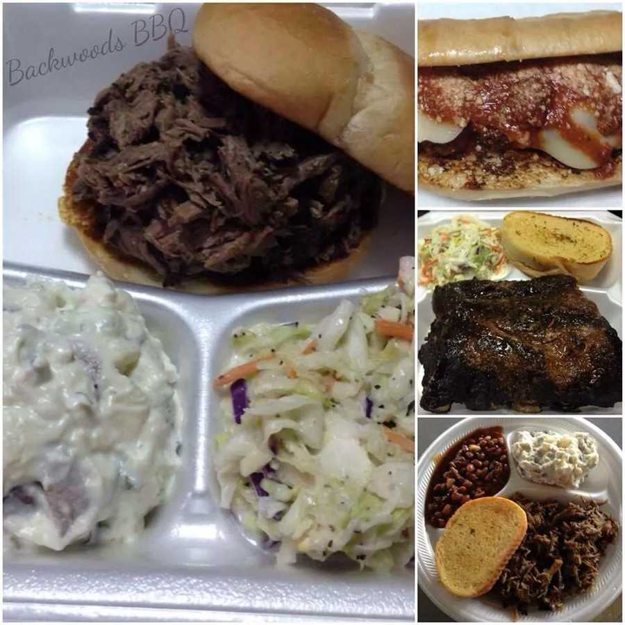 Backwoods BBQ is located in Saint Paul, AR on Highway 16 and can only be best described as a hidden gem that is a little slice of heaven! Owned by Cory and Anita Bacon, Backwoods BBQ is one BBQ restaurant that you don't want to pass by without checking out for yourself! Be sure to check their Facebook page for the latest updates on their best desserts and musical entertainment!