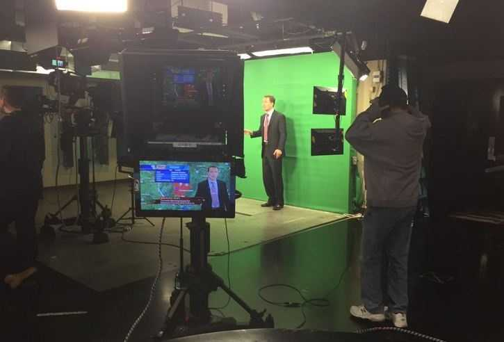 In May 2015, Darby was named 40/29's Chief Meteorologist. That same day, he was live on-air covering severe weather and flash flooding.