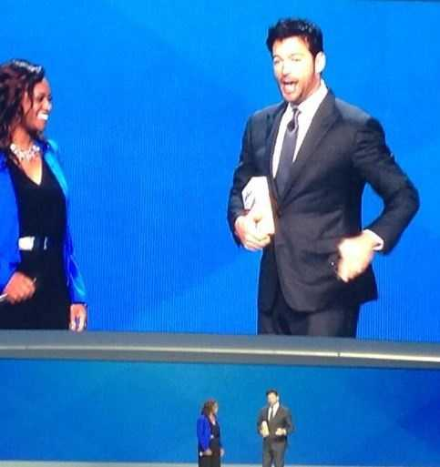 Harry Connick Jr. was the host for 2014.