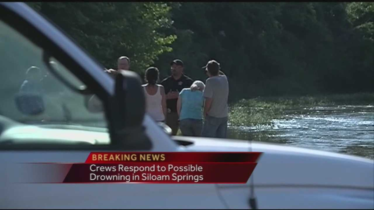 "Authorities say they are searching for a man after a ""possible drowning"" at the Illinois River."