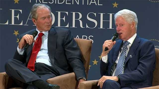 Bush Clinton forum