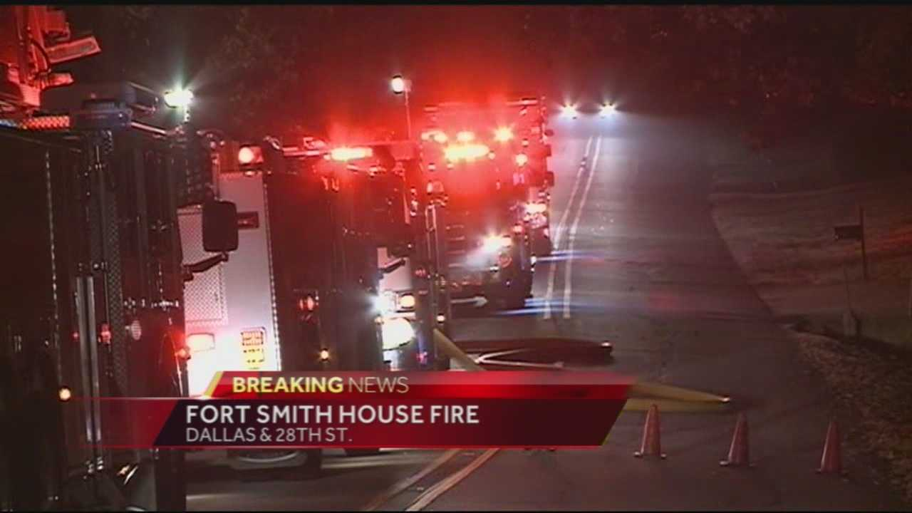 40/29's Pedro Rivera was live on scene following an early morning house fire.