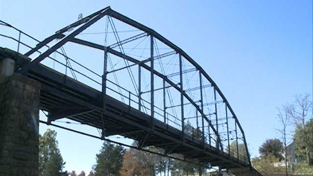 File image of War Eagle Bridge