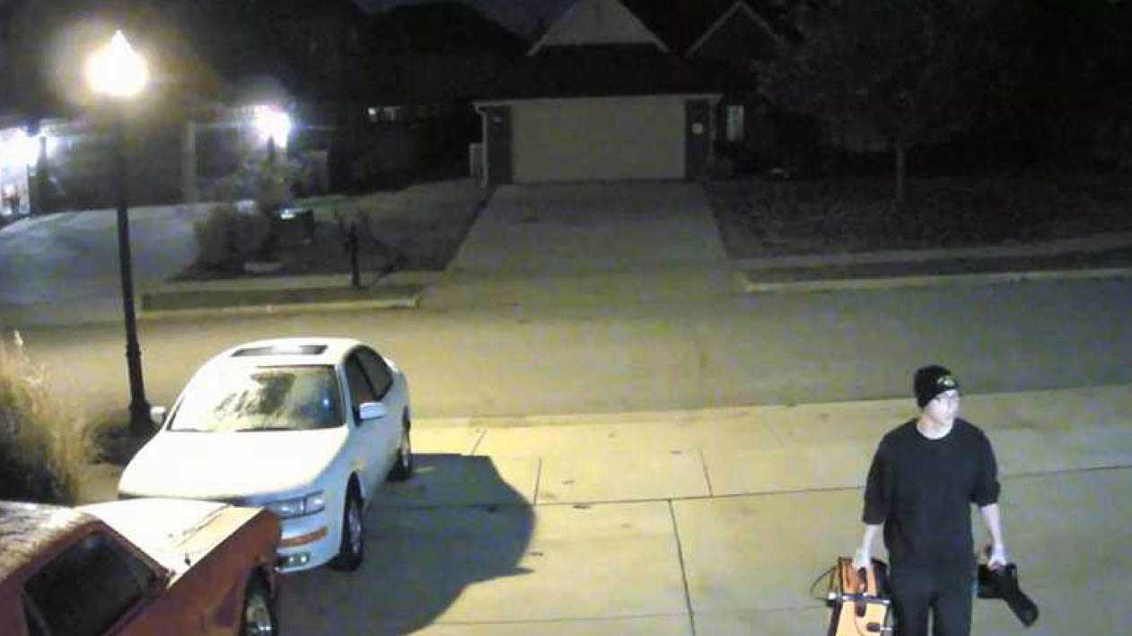 Police in Bentonville and surrounding areas are searching for the people responsible for a string of residential burglaries in the past few weeks.