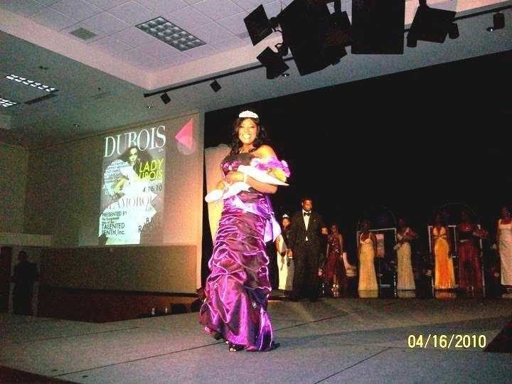 Ugochi won a scholarship Pagent in her sophomore year of college. Miss Lady Dubois 2010. She acted out a scene from a movie that won the judges over.