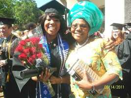 Ugochi graduated from Sam Houston state University in 2011, where she became a member of Zeta phi beta sorority incorporated.