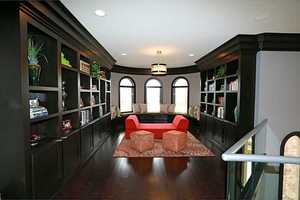 A personal library/study area that is to die for!
