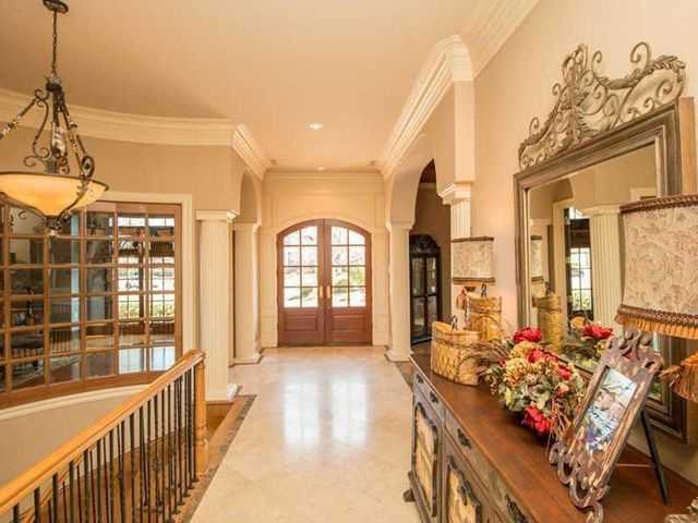 "According to realtor.com, is has ""featured exquisite mill work, hardwood flooring and detailed moldings."""