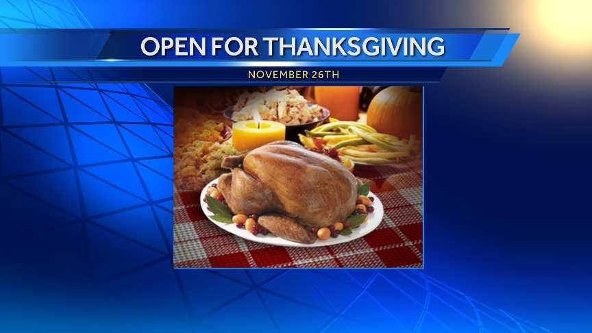 Fast food open on thanksgiving 100 images restaurants for Restaurants serving thanksgiving dinner near me 2017