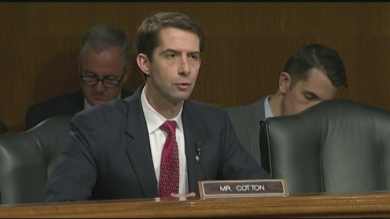 Sen. Tom Cotton and Sen. John Boozman