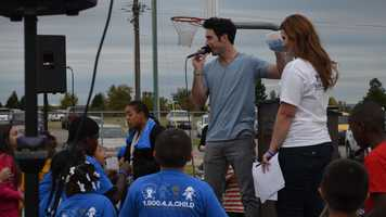 Craig Strickland, former Arkansas CW Star at Step Up and Speak out event