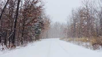 We started off 2015 with SNOW! Both Northwest Arkansas and the River Valley saw some snowfall in January and February. This picture is from Bella Vista.