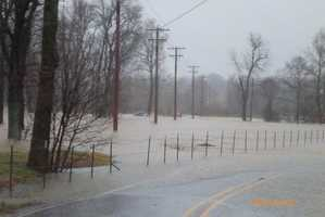 We had another bout of heavy rain and storms on Christmas weekend this year causing widespread flooding and road closures.