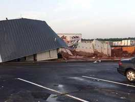 In July, an EF-1 tornado touched down in Gentry producing winds up to 105 miles per hour. No one was hurt in the tornado, but buildings were blown over and the strong winds caused other damage.