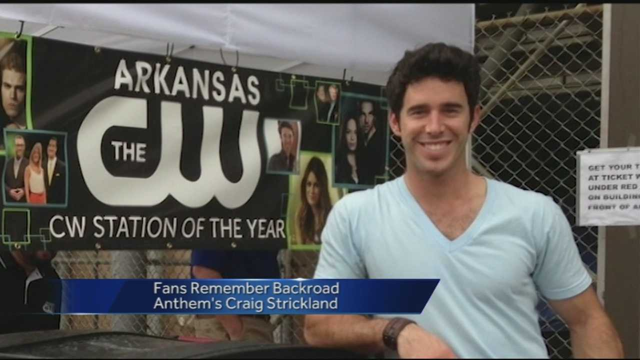 Fans remember Backroad Anthem singer Craig Strickland. Strickland was also the first CW Star for the Arkansas CW.