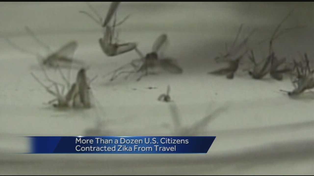 U.S. officials warn pregnant women about Zika virus