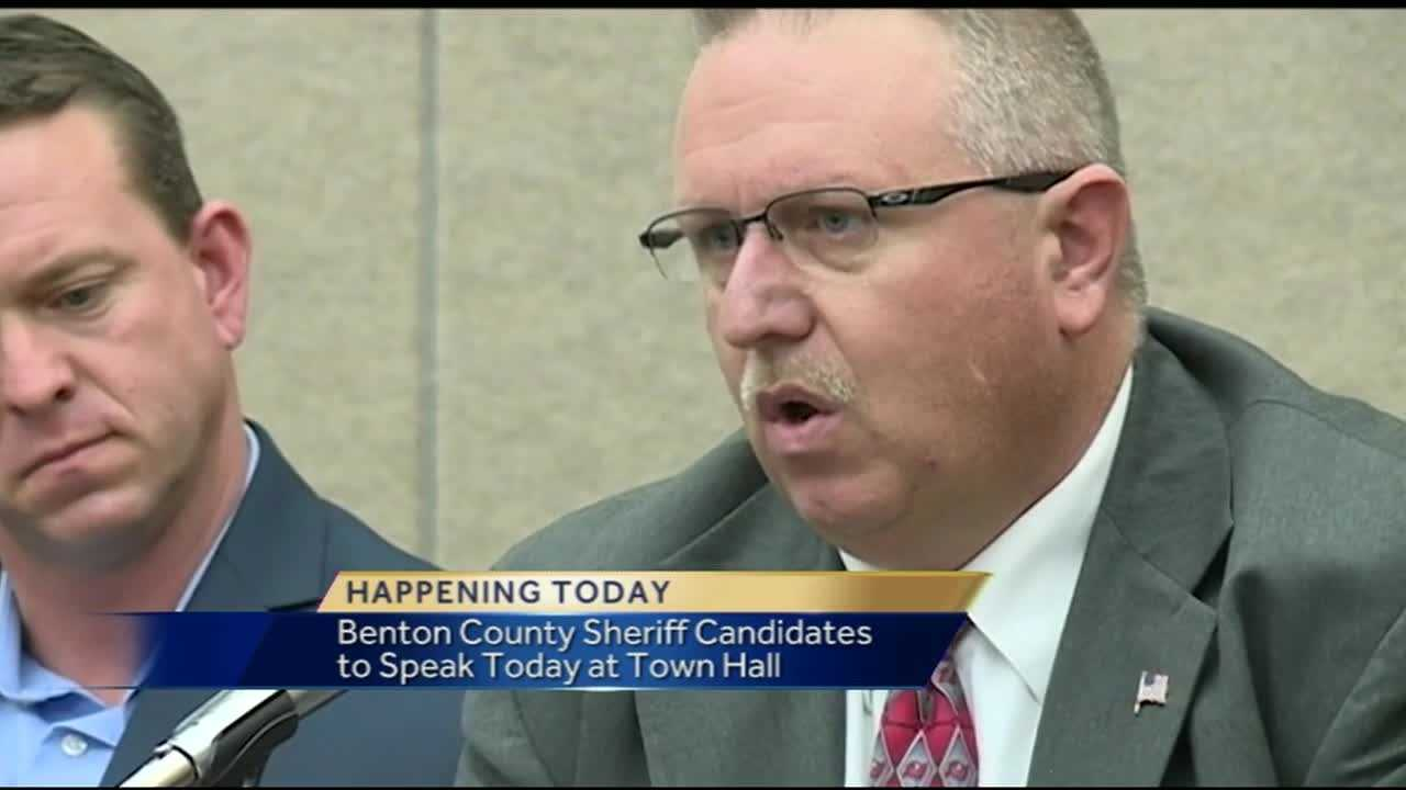 Benton County Sheriff candidate town hall meeting