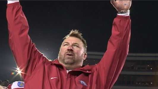 Bielema Calls Hogs After Liberty Bowl Win