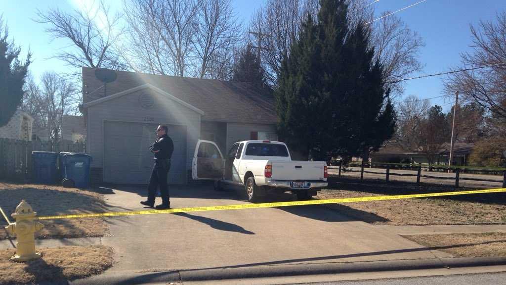 bentonville burglary shooting scene