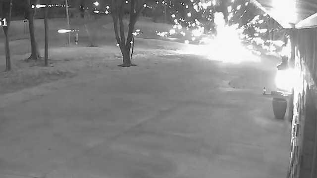 Fireworks destroy multiple mailboxes in Fayetteville