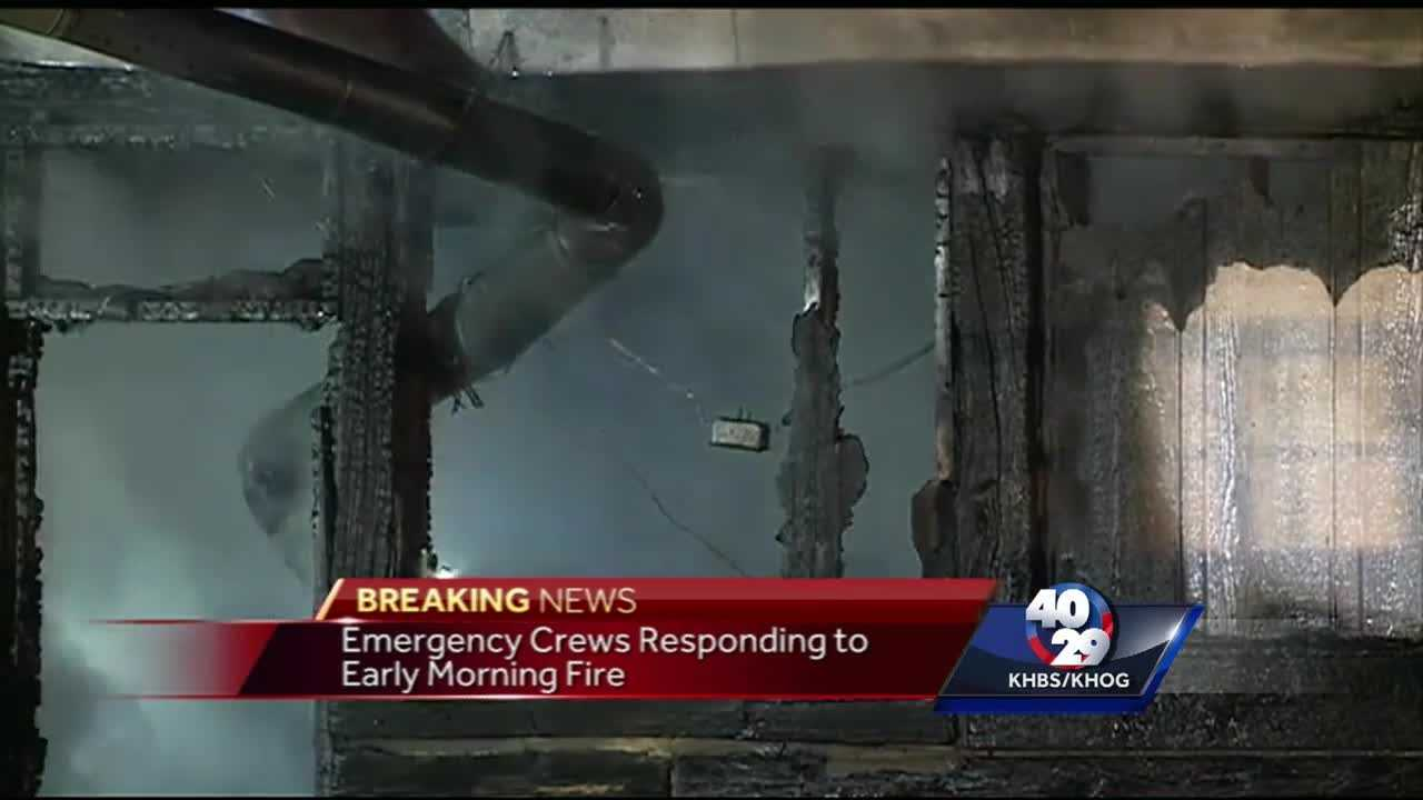 Antique shop in Pocola destroyed by overnight fire