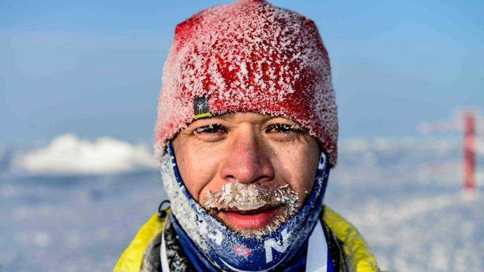 2016 North Pole Marathon Winner Dorn Wenninger