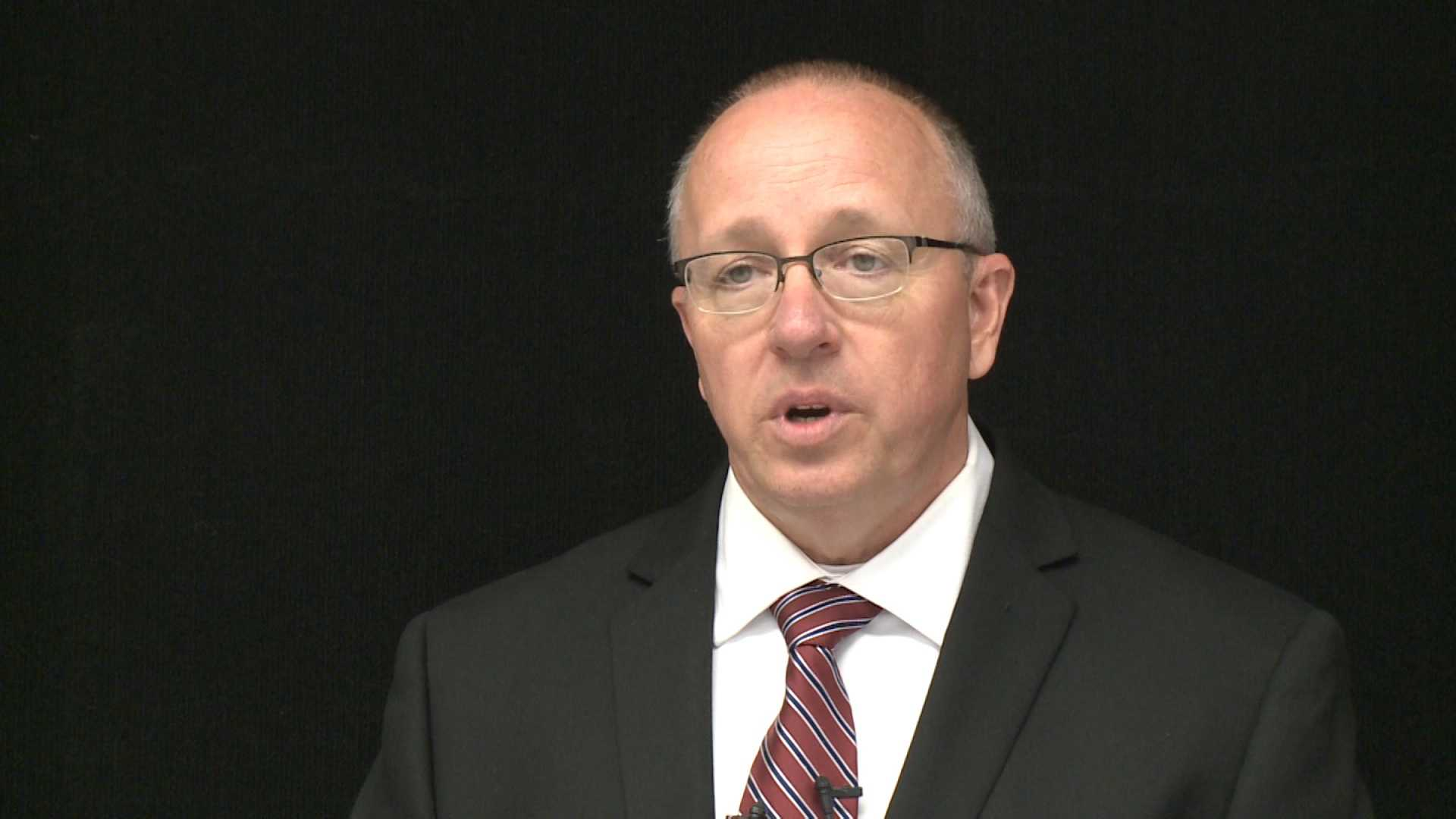Meyer Gilbert, Benton County's newly-appointed interim sheriff, shared his plans for helping to put the department in a better light after several months of controversy and scandal leading up to former Sheriff Kelley Cradduck's resignation last month.