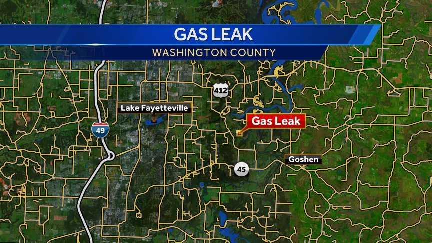 gas leak map