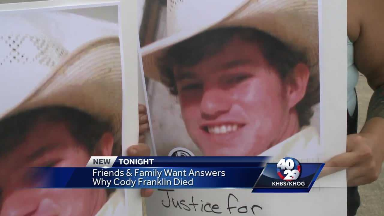 People took to the streets to protest a local jail after a young man died there after his arrest. Friends of Cody Franklin want answers as to why he died in the Franklin County Detention Center.