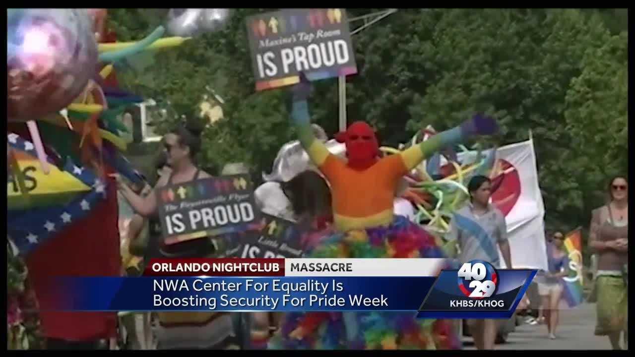 Organizers of LGBT Pride Week in Northwest Arkansas have security on their mind.