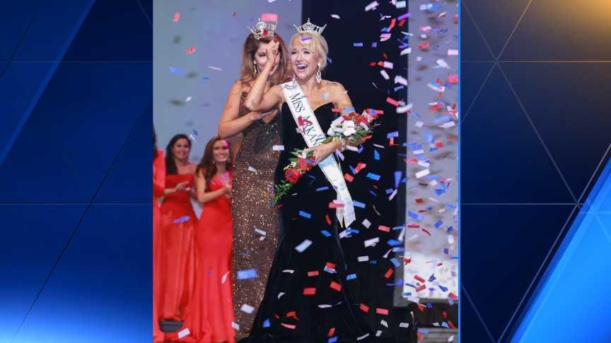 Savvy Shields, the new Miss Arkansas