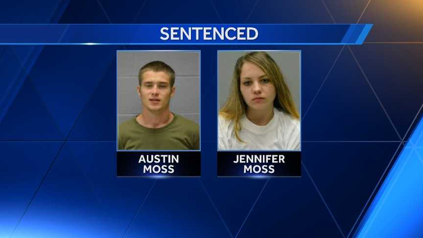 Austin and Jennifer Moss sentenced