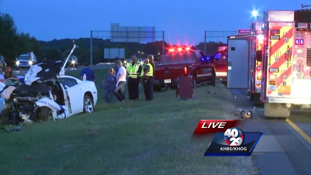 Trooper injured, One Killed after officer tried to stop wrong-way driver