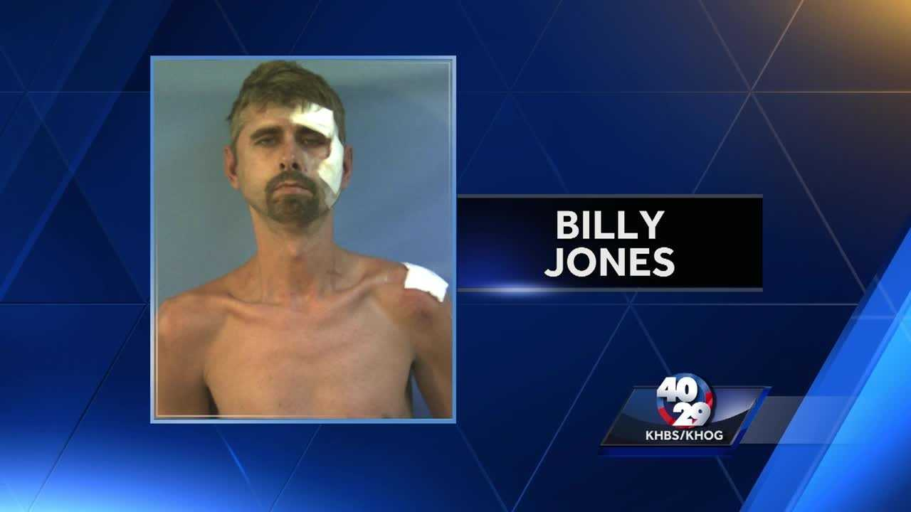Shooting suspect Billy Jones is being held in the Crawford County Detention Center.