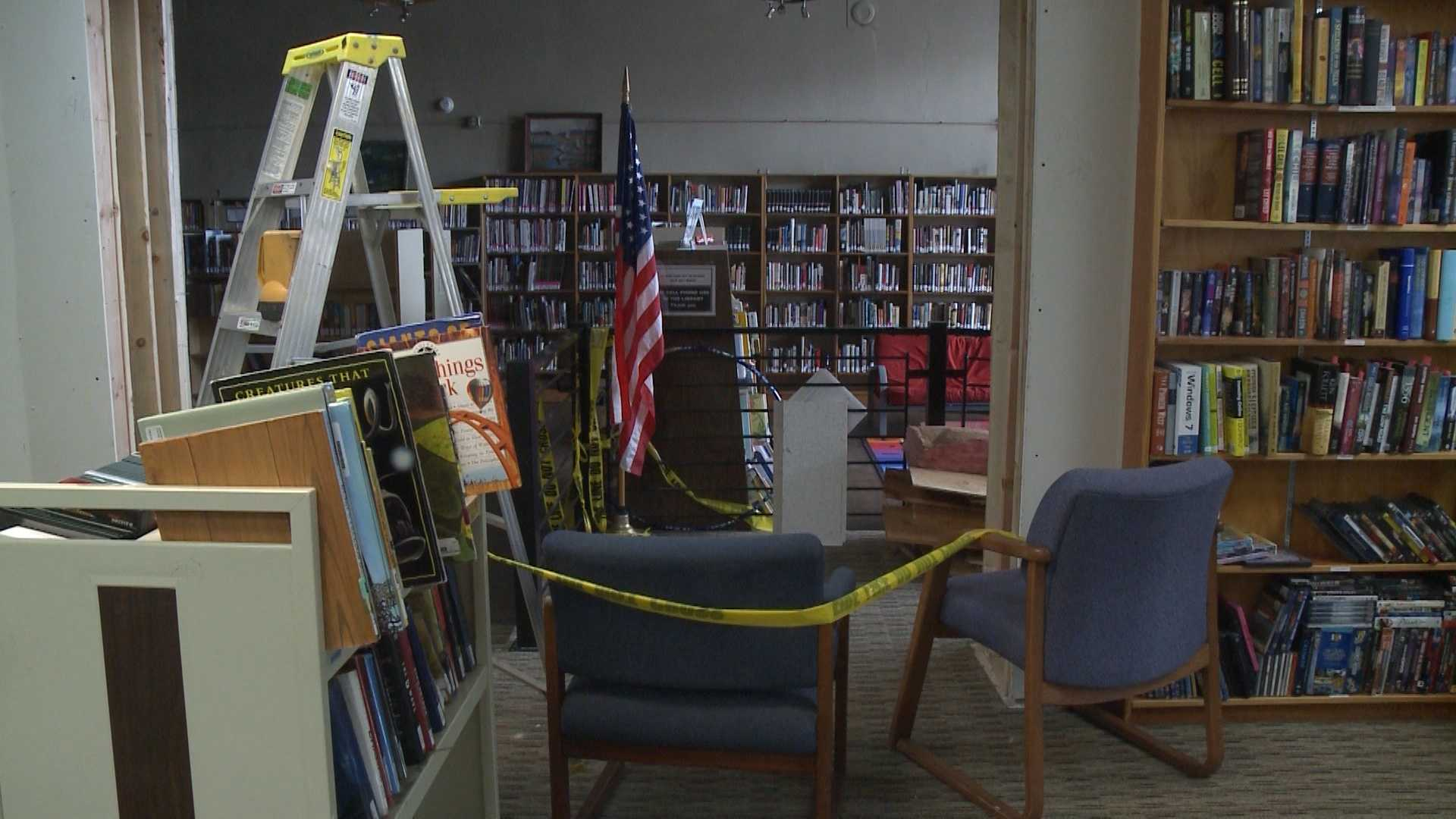 Part of the Gravette Library has been closed out of what the mayor calls an abundance of caution over concerns about the building's safety.