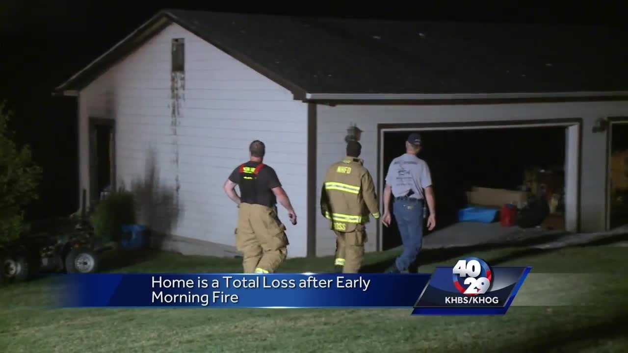 Trooper's home a 'total loss' after house fire