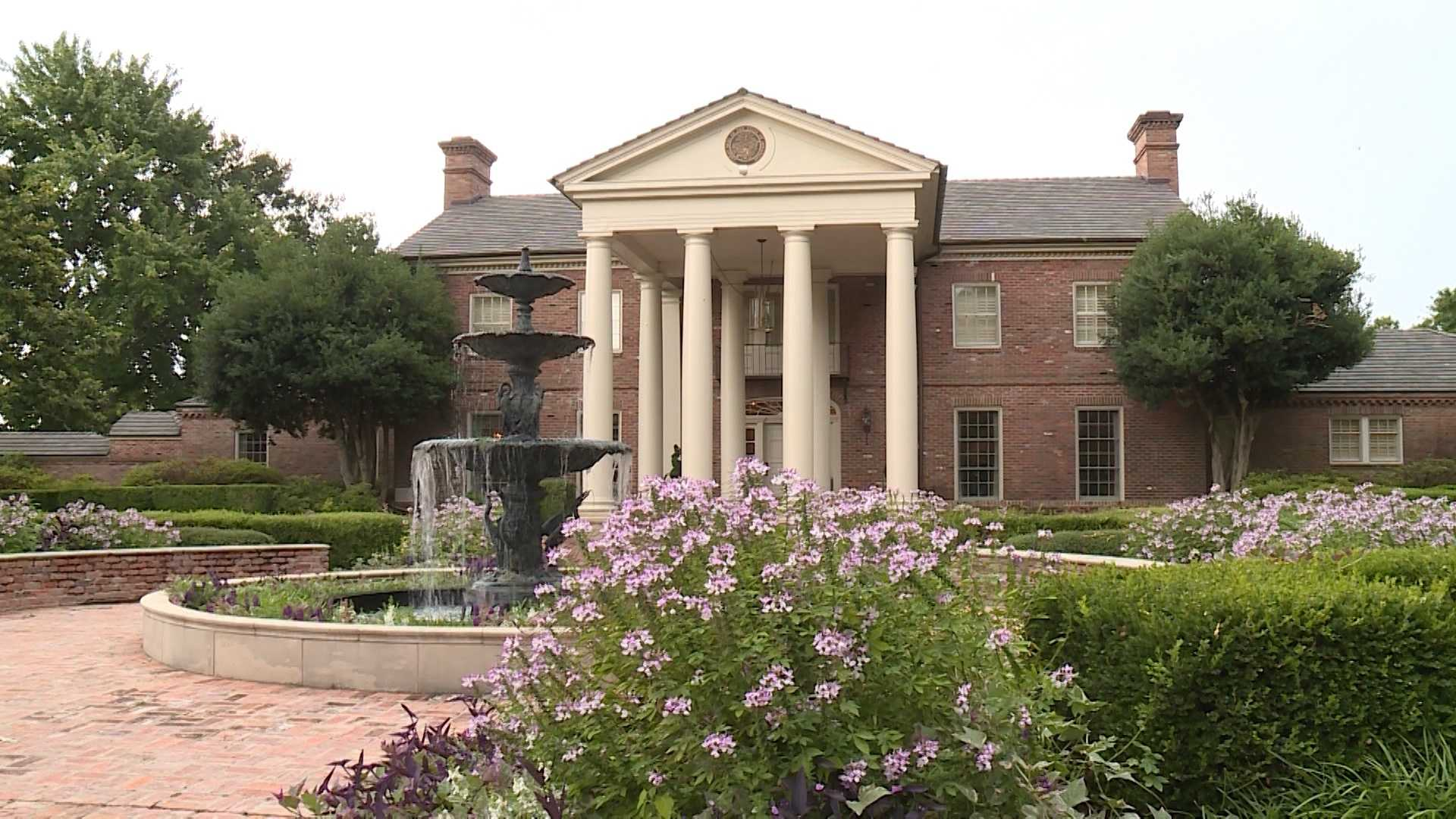 The Arkansas Governor's Mansion in Little Rock
