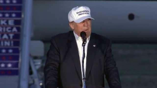 Donald Trump in Colorado Springs