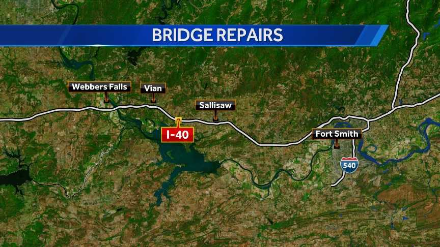 i-40 bridge repairs