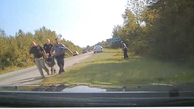 Dash cam of escaped inmate who stole police car.jpg