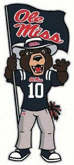 The Rebel Black Bear was chosen to replace Colonel Reb as the university's official mascot.