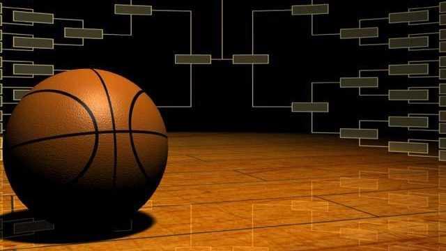 college basketball tournament bracket graphic