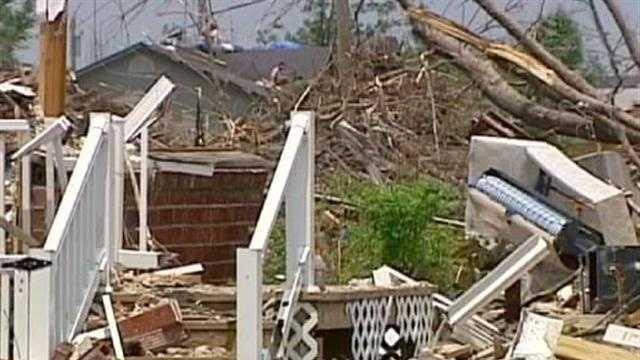 Joplin tornado damage - 28163111