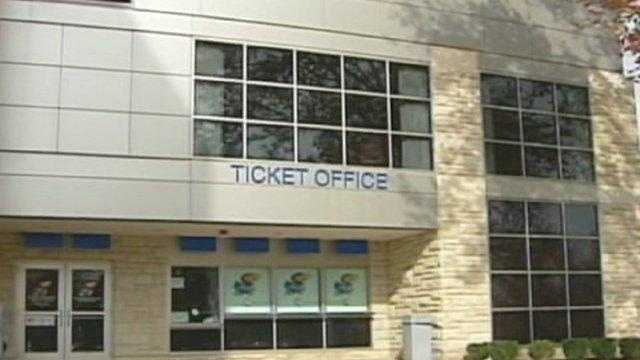 KU ticket office - 25844660