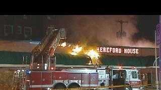 Hereford House fire