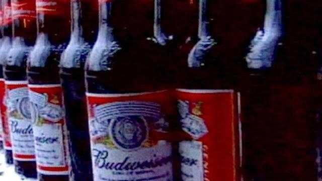 Budweiser beer bottles ANHEUSER BUSCH - 16882779